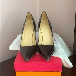 Beautiful black patent leather Kate Spade pumps